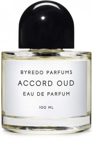 Парфюмерная вода Accord Oud Byredo. Цвет: бесцветный