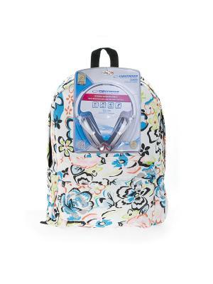 Рюкзак 3D Bags. Цвет: белый, голубой, розовый