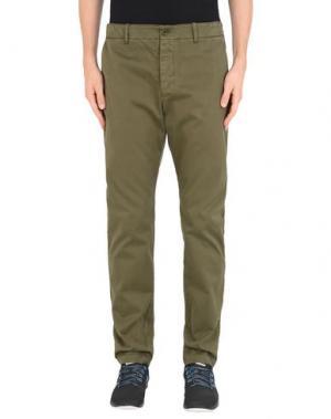 Повседневные брюки YMC YOU MUST CREATE. Цвет: зеленый-милитари