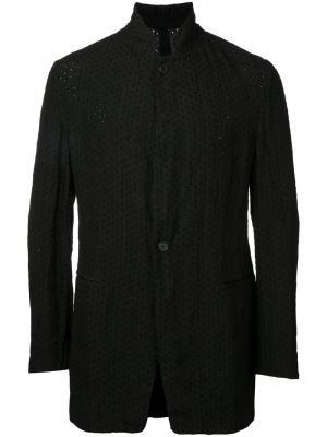 Куртка с воротником-стойка Forme Dexpression D'expression. Цвет: чёрный