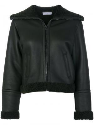 Zip up jacket Inès & Maréchal. Цвет: зелёный
