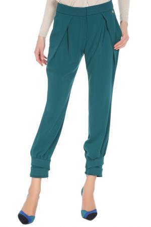 Брюки Versace Collection. Цвет: зеленый
