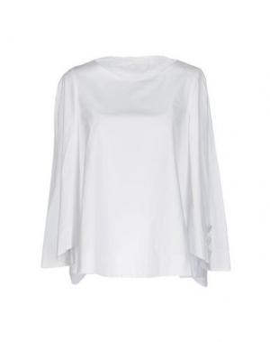 Блузка TARA JARMON. Цвет: белый