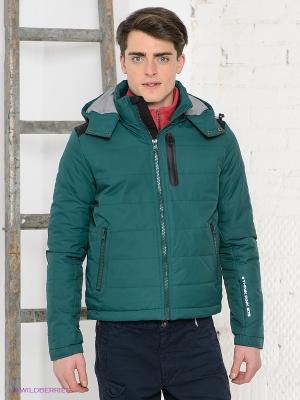 Куртка Think Pink. Цвет: зеленый