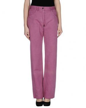 Повседневные брюки RE.SET. Цвет: пурпурный