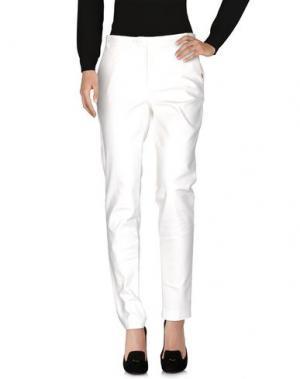 Повседневные брюки XANDRES. Цвет: белый
