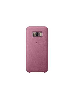 Чехол (клип-кейс) Samsung EF-XG955APEGRU для Galaxy S8+, розовый. Цвет: розовый