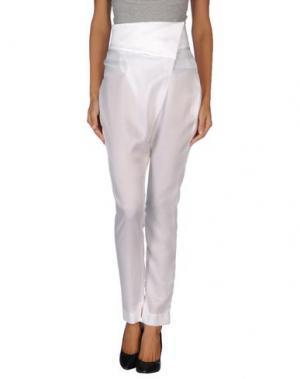 Повседневные брюки IF SIX WAS NINE. Цвет: белый