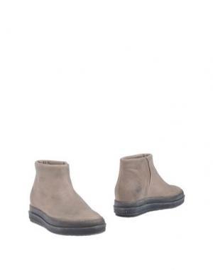 Полусапоги и высокие ботинки RUCO LINE. Цвет: бежевый