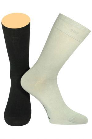 Носки Collonil. Цвет: черный, серый