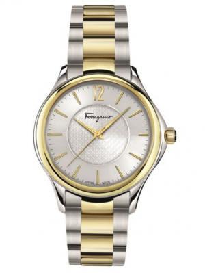 Часы Salvatore Ferragamo. Цвет: серый