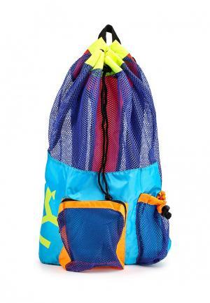 Рюкзак TYR. Цвет: синий