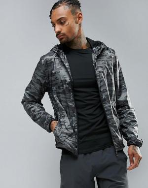 Blend Спортивная куртка на молнии Active. Цвет: черный