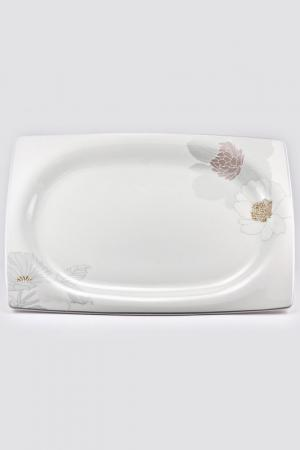 Блюдо прямоугольное 39 см Royal Porcelain Co. Цвет: белый