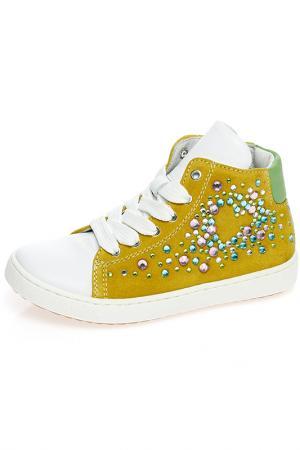 Ботинки Ciao Bimbi. Цвет: желтый