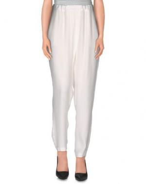 Повседневные брюки SACK'S. Цвет: белый