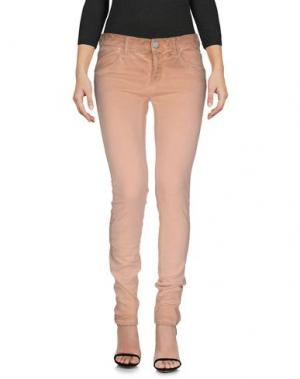 Джинсовые брюки SEAL KAY INDEPENDENT. Цвет: лососево-розовый