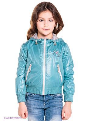 Куртка Bell bimbo. Цвет: голубой
