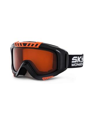 Очки горнолыжные Sky Monkey SR22 OR. Цвет: черный, оранжевый