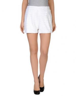 Повседневные шорты CATCH22. Цвет: белый