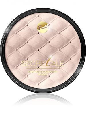 Bell Пудра Для Лица И Тела Осветляющая Secretale Nude Skin Illuminating Powder Тон 01. Цвет: розовый