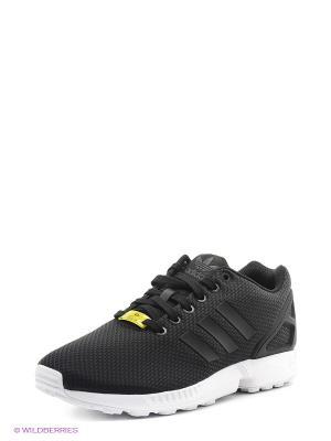 Кроссовки ZX FLUX Adidas. Цвет: черный