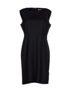 Короткое платье GENTRYPORTOFINO. Цвет: стальной серый