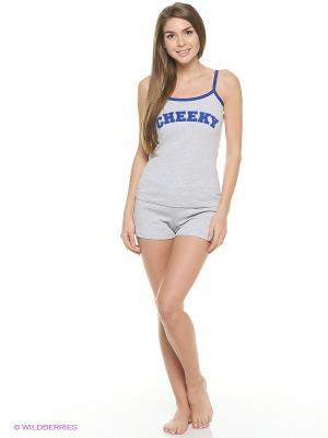 Комплект одежды Vienetta Secret. Цвет: синий