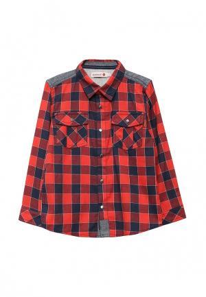 Рубашка Boboli. Цвет: красный