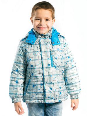 Куртка Матвей Аксарт. Цвет: синий