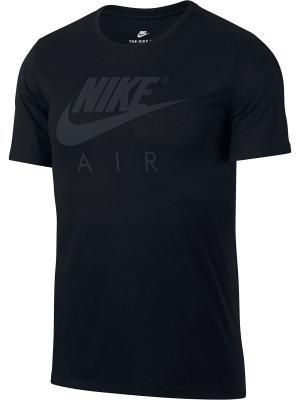 Футболка M NSW TEE TB AIR HD LOGO Nike. Цвет: черный