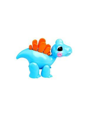 Фигурка Стегозавр Tolo. Цвет: голубой