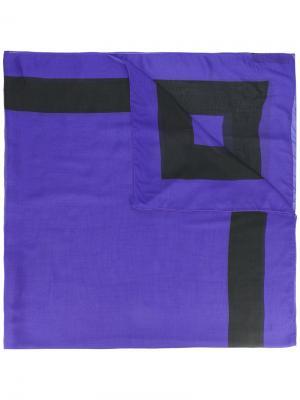 Printed scarf Haider Ackermann. Цвет: розовый и фиолетовый