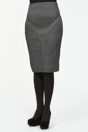 Юбка Royal Desir. Цвет: серый
