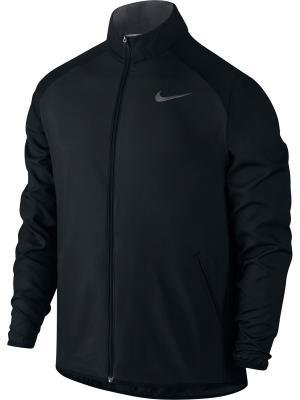 Куртка M NK DRY JKT TEAM WOVEN Nike. Цвет: черный, темно-серый