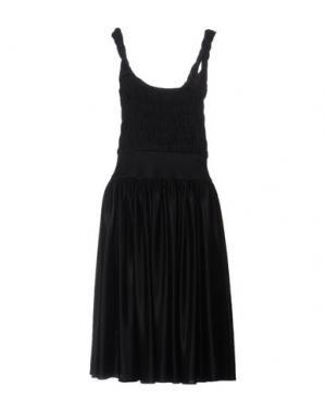 Платье длиной 3/4 SOPHIA KOKOSALAKI. Цвет: черный