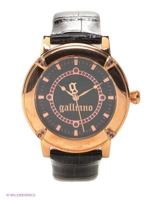 Часы наручные Galliano. Цвет: черный