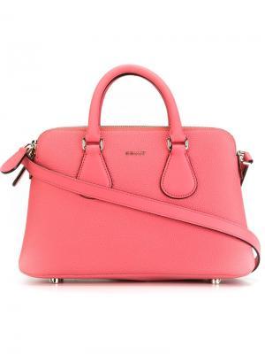 Ультра маленькая сумка-тоут Berkeley Bally. Цвет: розовый и фиолетовый