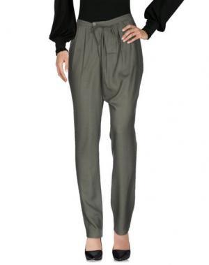 Повседневные брюки ANNE VALERIE HASH. Цвет: зеленый-милитари