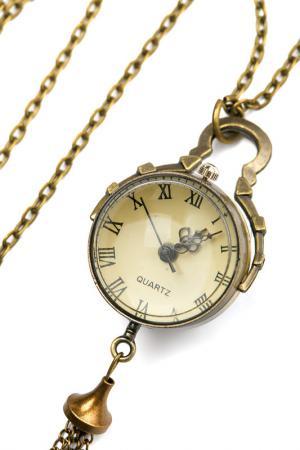 Часы-кулон TELLE QUELLE. Цвет: бронзовый