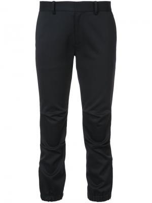 Укороченные брюки скинни Nili Lotan. Цвет: чёрный