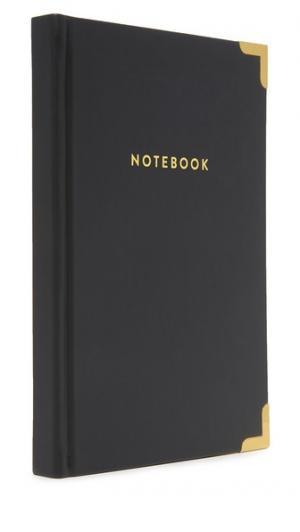 Книга для записей с золотистыми уголками Gift Boutique