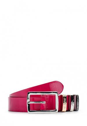Ремень Armani Jeans. Цвет: розовый