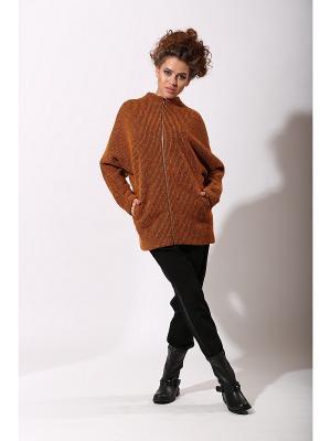 Куртка IrisRose. Цвет: оранжевый