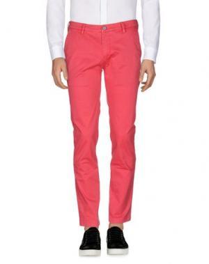 Повседневные брюки YAN SIMMON. Цвет: коралловый