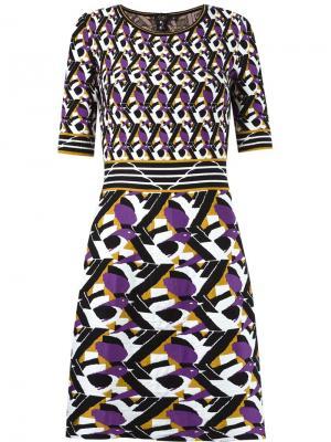 Flared knit dress Gig. Цвет: белый