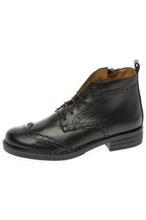 Ботинки TNY. Цвет: черный