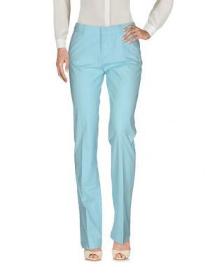 Повседневные брюки BROOKSFIELD. Цвет: бирюзовый