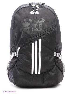 Рюкзак Backpack Budo Adidas. Цвет: черный