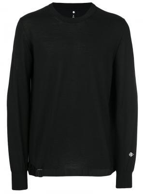 Свитер с вышивкой логотипа Oamc. Цвет: чёрный